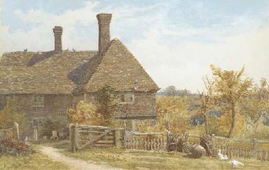A Kentish farmhouse