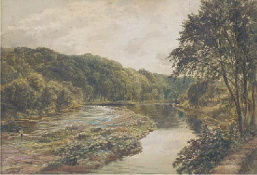 View of the River Eden, near C
