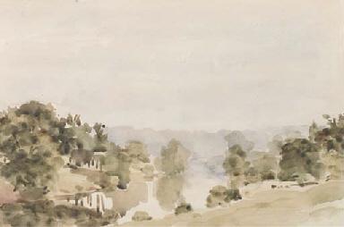 The River at Bridgenorth, Shro