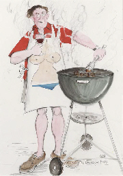 The barbecue host