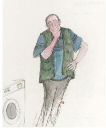 Man to fix the washing machine