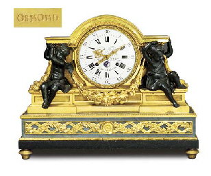 A LATE LOUIS XV ORMOLU, PATINA