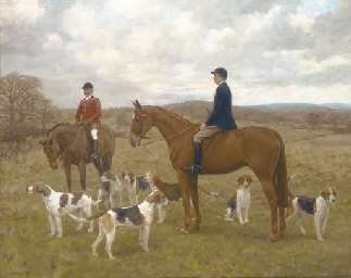 The Monmouthshire hunt