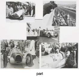 German Racing Cars - Mercedes