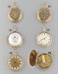 Volta: An 18ct. gold, enamel a