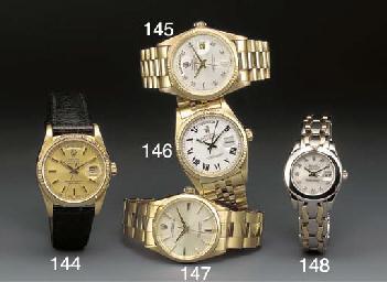 Rolex: An 18ct. selfwinding wa