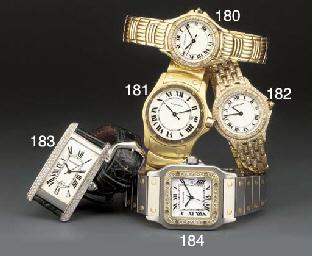 Cartier: An 18ct. white gold a