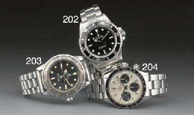 Rolex: A steel water resistant