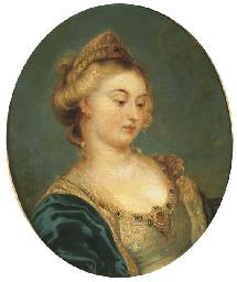 Portrait de femme à la tiare