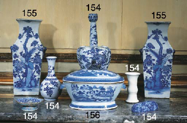 ENSEMBLE DE PIECES EN PORCELAI