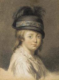 Portrait de jeune garçon en bu