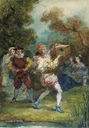 Mélicerte, d'après Molière (Ac