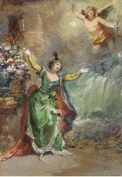 Psychée, d'après Molière (Acte