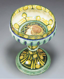 An Earthenware Footed Bowl