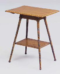 AN OAK OCCASIONAL TABLE