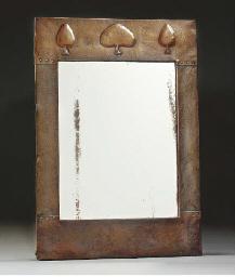 A Copper Framed Mirror