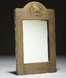 A Copper Framed Mirror