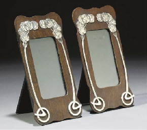 A Pair of Frames with White Me