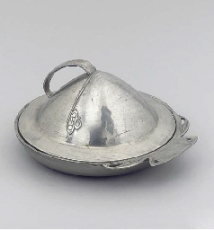 A Tudric Pewter Muffin Dish an