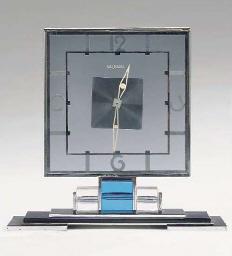 A Swiss chrome-plated metal an