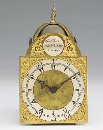 A George III style brass lante