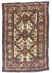 An unusual Shirvan rug of Seyc