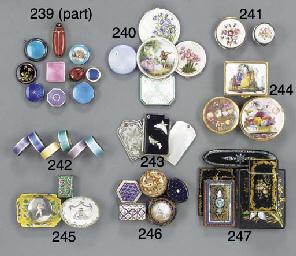 An English cased set of six en