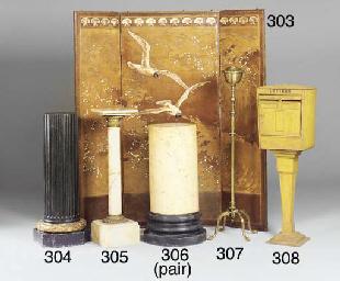 An English brass standard oil