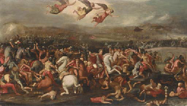 The Battle of the Milvian Brid