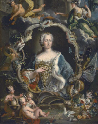 Portrait of Maria Sobieska, st