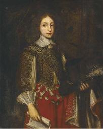 Portrait of James II (1633-170
