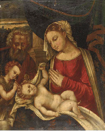 The Holy Family with Saint Joh