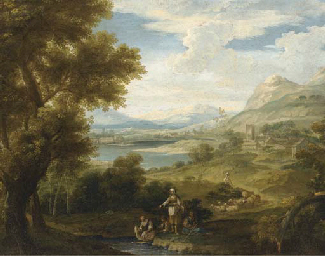 An extensive landscape with sh