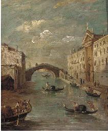 The Rio dei Mendicanti, Venice
