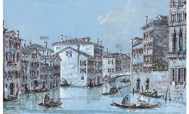 View of the canal by Ca'Foscar