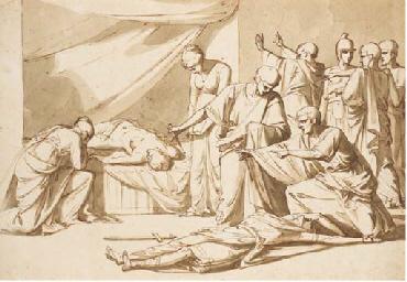 Roman senators and women disco