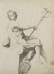 An allegorical figure of Peace