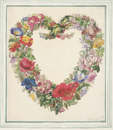 A floral heart: design for a f