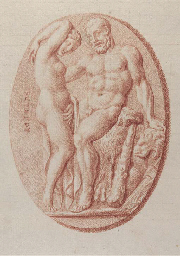 Three Roman cameos: Hercules a