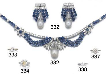A diamond, sapphire and South