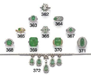 An emerald and diamond crossov