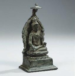 a central javanese bronze figu