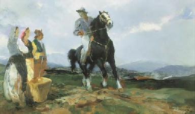 Buttero a cavallo