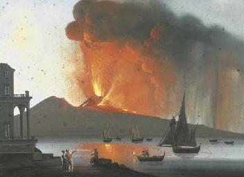 Fuoco sul Vesuvio; Napoli, eru