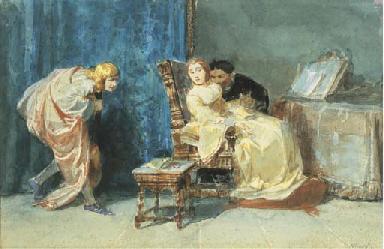 Scena dell'Otello di Shakespea