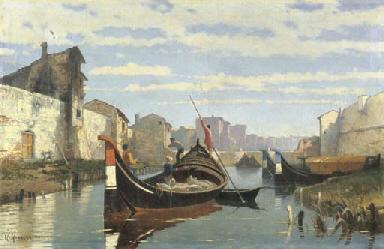 Livorno, trasporto sul canale,