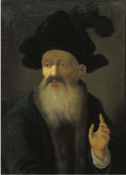 A tronie: An old man in a blue