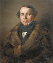 Portrait of a gentlemen in fur