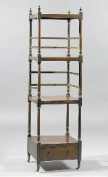 An English mahogany dumbwaiter
