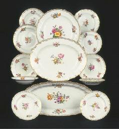 (20) A Berlin KPM porcelain as